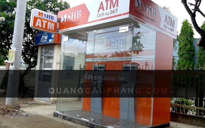 Trụ ATM SHB sau khi hoàn thành