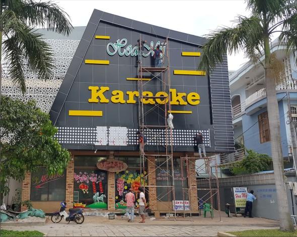 mat dung alu karaoke